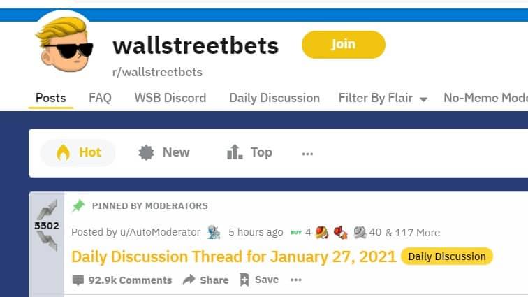 "reddit Short Squeeze, GameStop, Hedge Funds e a Teoria dos Mercados ""eficientes"""